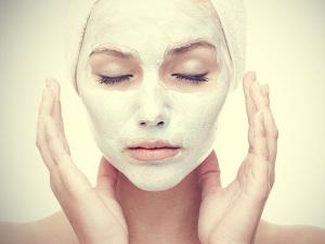 Глиняная маска от воспалений на лице и теле