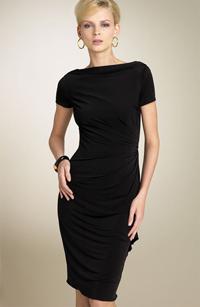 Черное платье как предмет сексуального образа