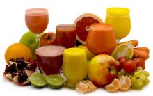 Польза натуральных соков